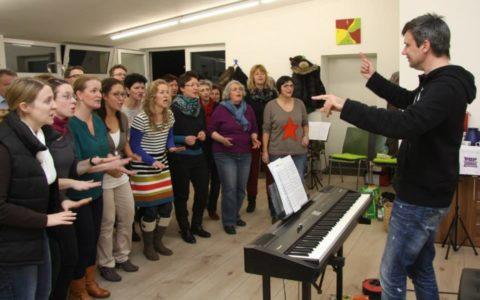 """Just sing it"" – MarCanto groovt mit Carsten Gerlitz // 2014"