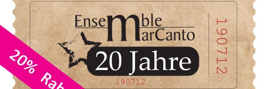 Jubiläumskonzert 2020: #Chor – chic vertont